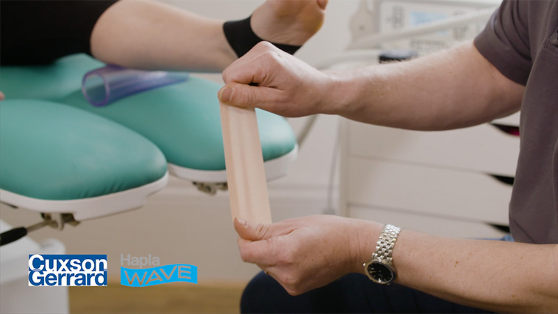 19190 CG Hapla Wave Taping Technique For Muscle Tibialis Posterior